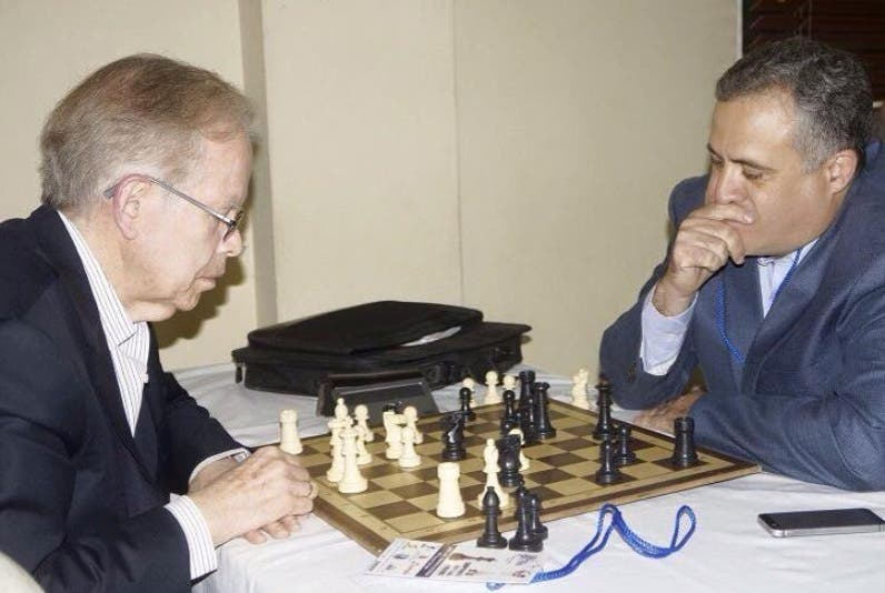 José Luis Corripio y Pedro Domínguez Brito  hacen movida.