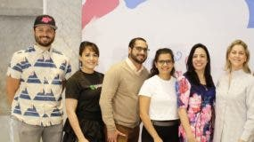 Nono Rodríguez, Ingrid Rosario, Carlos Guzmán, Jennipher J. Lama, Mónica Molina y  Marie Pierre.