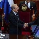Danilo Medina  Sánchez se dirigió a la nación en ocasión de celebrase ayer  el 175 aniversario  de la independencia. José de León