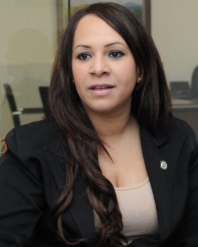 Karen Ricardo, diputada por Santo Domingo Este.