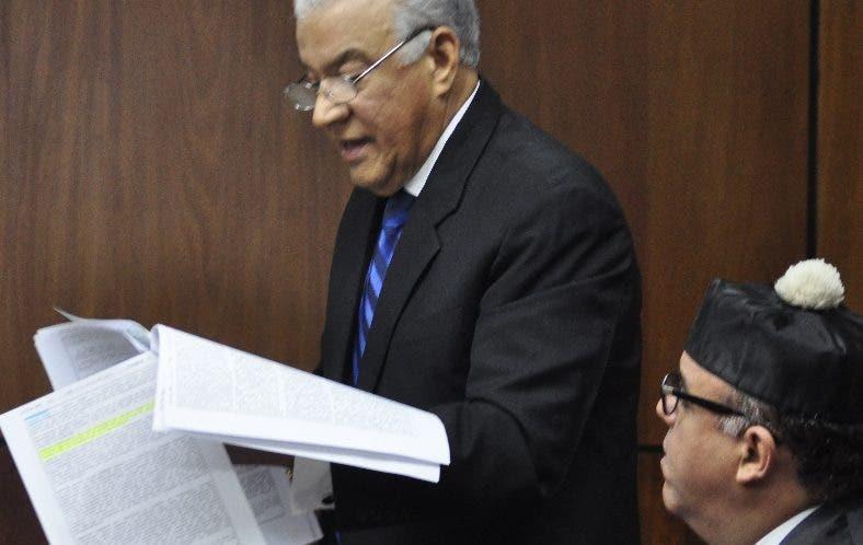 Andrés Bautista durante audiencia caso Odebrecht.