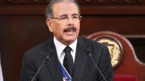 Danilo Medina viajará en un vuelo comercial. ARCHIVO.