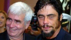 Gustavo Del Toro y su hijo el afamado actor Benicio Del Toro. (Archivo)
