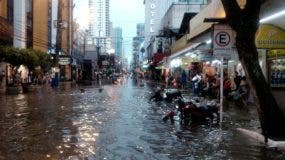 El temporal, con vientos de hasta 110 kilómetros por hora en algunos puntos de la urbe, causó inundaciones, apagones y deslizamientos de tierras en varios barrios, además de provocar la caída de unos 170 árboles, según la Alcaldía de Río de Janeiro.