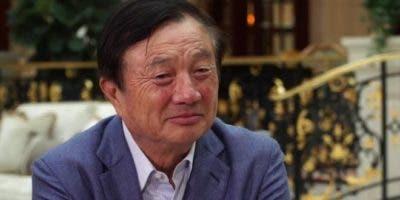 El fundador y dueño de Huawei, Ren Zhengfei, se mostró convencido de que Estados Unidos no podrá aplastar la compañía.