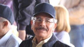El presidente, Danilo Medina Sánchez. Archivo