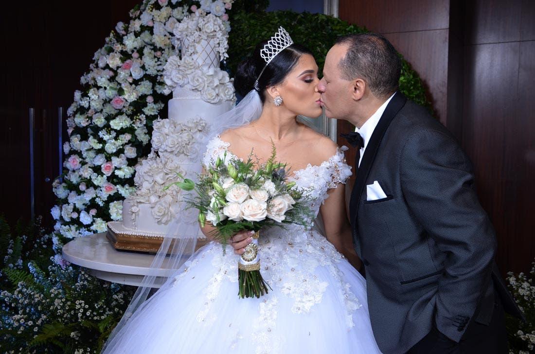 Dianabel Gómez  y Franklin Mirabal se dieron el si, acepto.