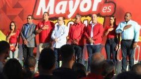 Quique Antún habló en un acto masivo donde juramentó la nuevo estructura dirigencial del PRSC en la provincia de Hato Mayor.