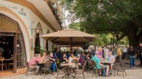 Restaurante El Conde, en la Zona Colonial.