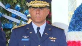 Mayor general Richard Vásquez Jiménez.