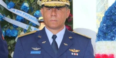 Mayor general Richard Vásquez Jiménez.