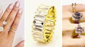 Las piedras de los diamantes  se miden en milímetros y se pesan en quilates (1 quilate equivale a 200 miligramos).
