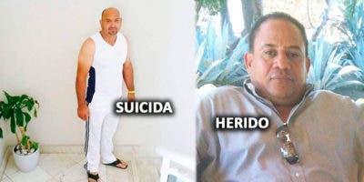 Fotos de archivo de Pedro Antonio Taveras Uceta (homicida) y Franklin Marichal, herido.