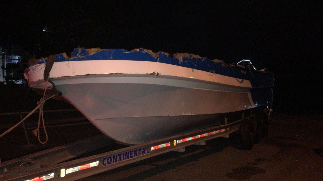 Narcos utilizaron lancha que zozobró en Mar Caribe para introducir 707 kilos de cocaína al país