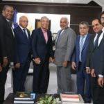 Rubén Bichara giró una visita al presidente de la Cámara de Diputados.