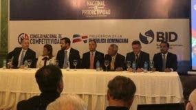 Rafael Paz encabeza el lanzamiento del Indice Nacional de Productividad.