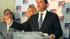 El aspirante presidencial del Partido de la Liberación Dominicana, Manuel Crespo.