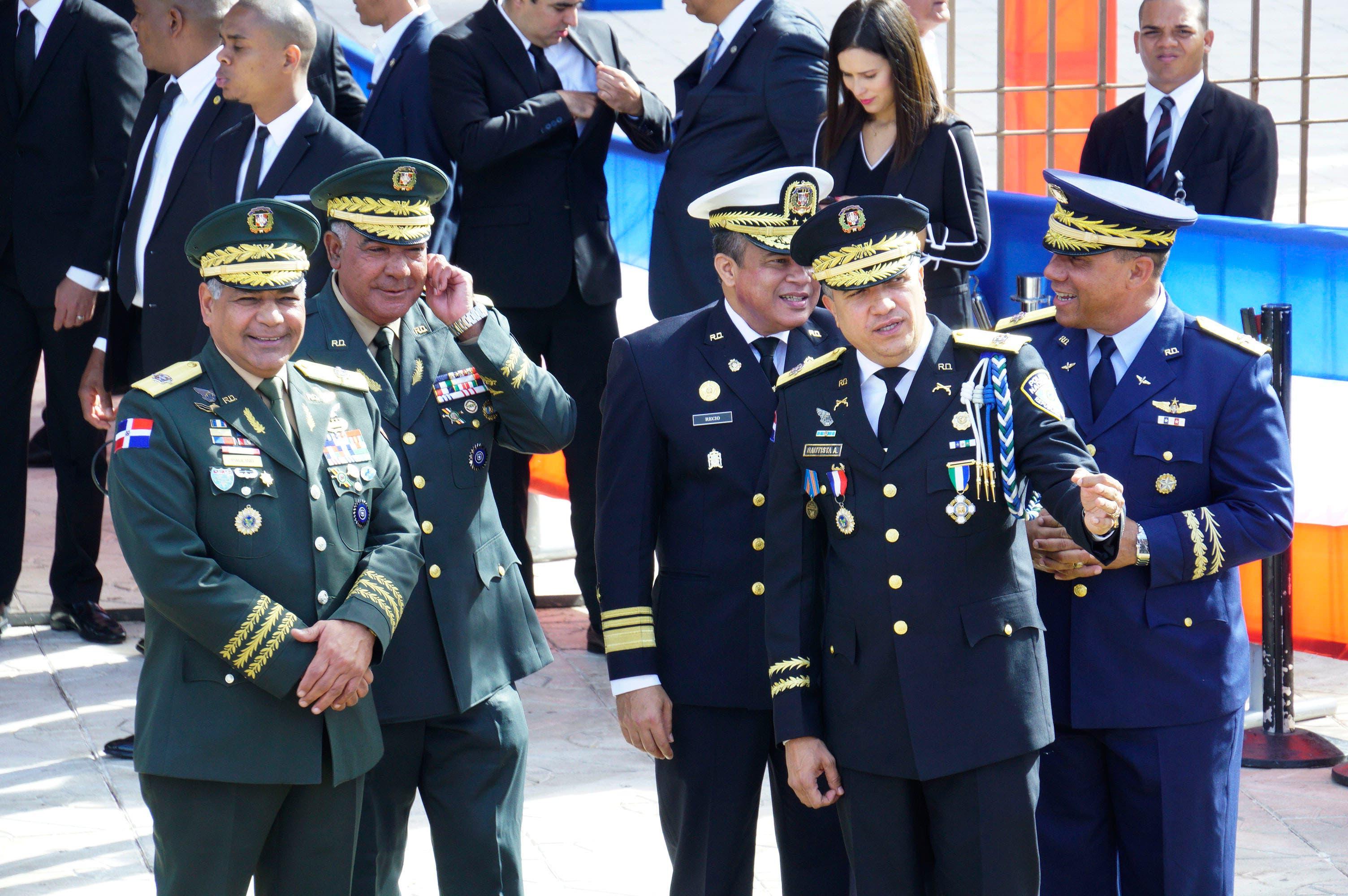 3. Los altos mandos militares presentes para participar en la rendición de cuentas del Presidente. Foto: Elieser Tapia.