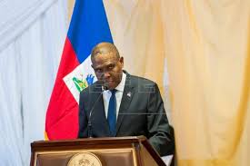 Primer ministro de Haití, Jean Henry Céant,