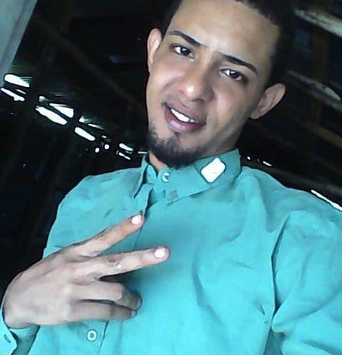 Luis Morris Mendoza, de 27 años, desapareció el 12 de octubre de 2018