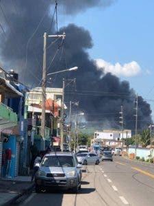 El incendio fue controlado este mediodía y no hubo personas afectadas.