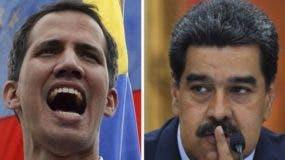 Tanto Juan Guaidó como Nicolás Maduro se consideran presidentes legítimos de Venezuela.