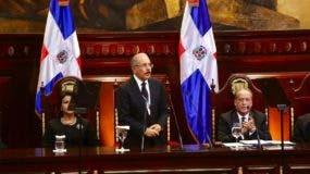 Danilo Medina en rendición de cuentas