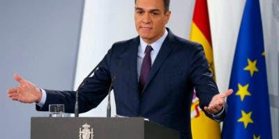 Primer ministro Pedro Sánchez. AP