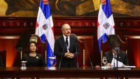 Discurso de rendición de cuentas de Danilo Medina .