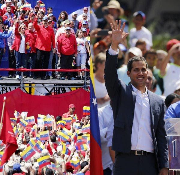 Venezuela: grandes manifestaciones pro y antigobierno