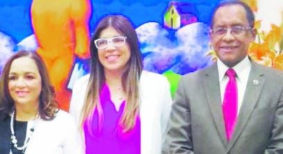 Virginia Arredondo, Ana Simó y Antonio Medina.