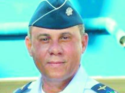 Mayor general piloto Richard Vásquez Jiménez.