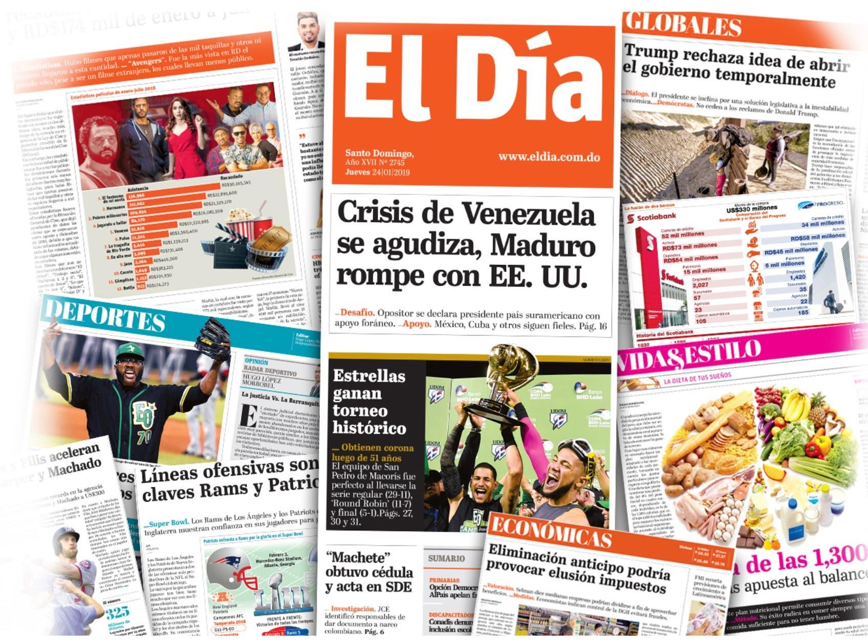 Felicitaciones a EL DÍA por 17 aniversario resaltan su gran calidad editorial