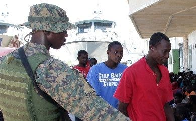 Muchos haitianos pierden la vida en el trayecto marítimo.