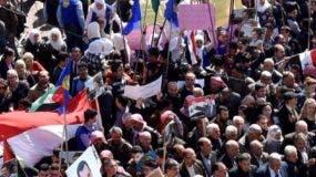 Los sirios protestaron   por la medida de Donald Trump.