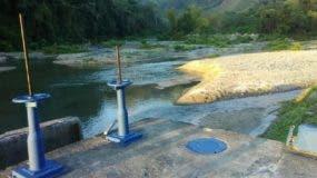 El sistema del río Duey es uno de los más afectados por la sequía.  Fuente externa