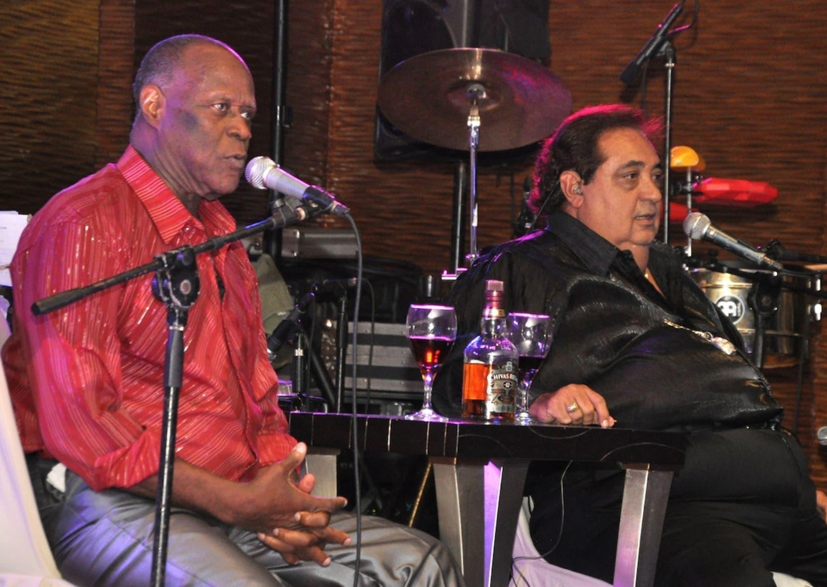 Johnny Ventura y Ánthony Ríos