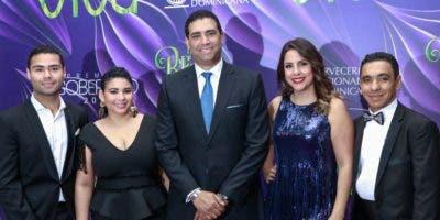 Juan Ramón Gómez Jr, Alina Tavárez, Marco Herrera Beato, Laura Castellanos y  Luis Bodega Beliard.