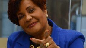 Josefa  Castillo dijo que el PRM aspira a que del proceso evaluativo   salgan   jueces impolutos  e independientes.  José de León