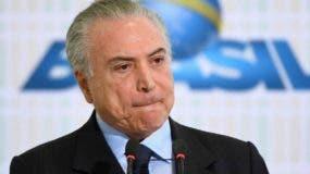 El expresidente Michel Temer acusado de corrupción.