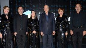 Amarilys Cruz, Gustavo Zuluaga, Elizabeth Mena, Freddy Reyes, Claudia Espinal y Francisco Melo.