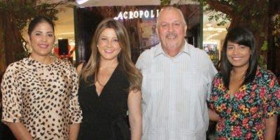 Miosotis Rossi, Patricia Ramela, Fernando Rodríguez y Carolina Fernández.