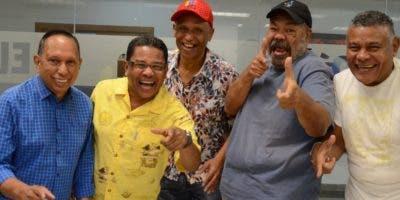 Vladimir, César, Rodrigo, Joselito y Elio, las caras del grupo de salsa de Venezuela.  José de León