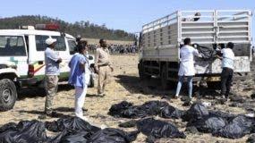 El siniestro de Ethiopian Airlines no dejó sobrevivientes.