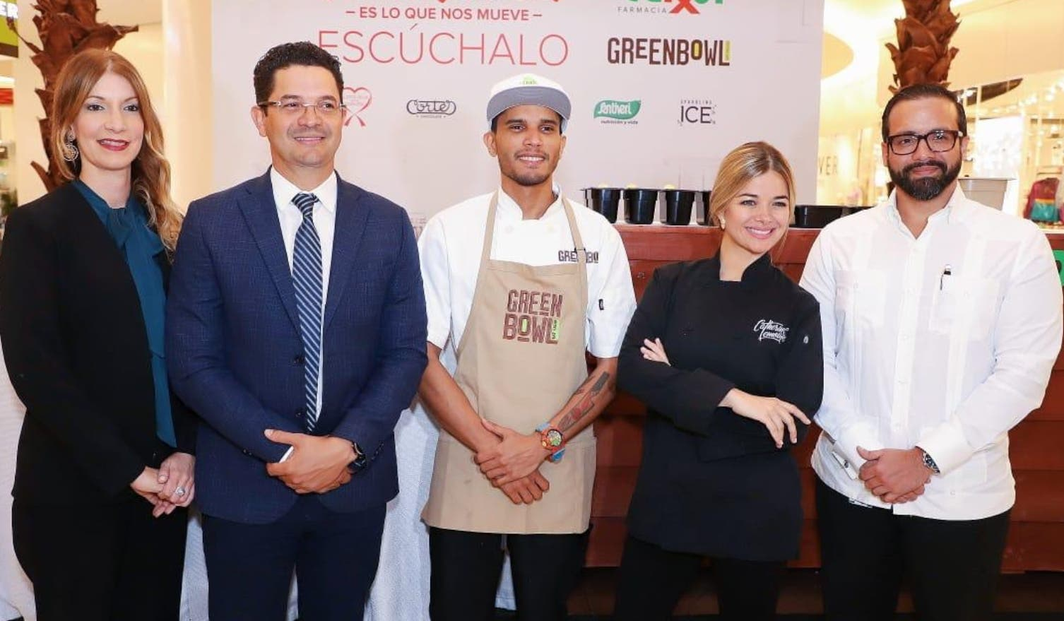 María  Ferreiro, Richard Marine, José Sporl, Catherine Lemoine y Julio  Curiel.