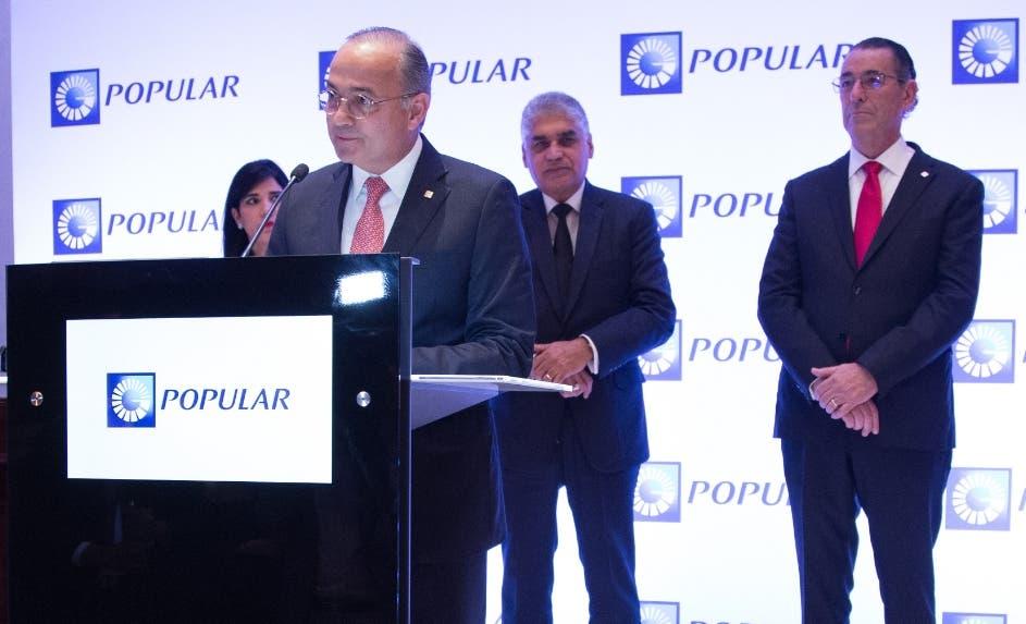 Juan Lehoux, vicepresidente ejecutivo de Negocios en el acto.
