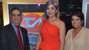 Valentín Báez, María Elena Núñez y Helen Gil.