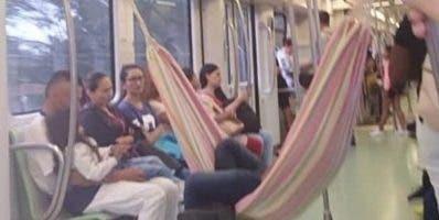 Autoriades del  metro de Medellín reaccionaron airadas.