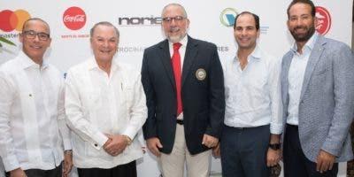 Manuel Sajour, Frank Rainieri, Carlos Elmúdesi, Frank Elías Rainieri e Hiram Silfa.