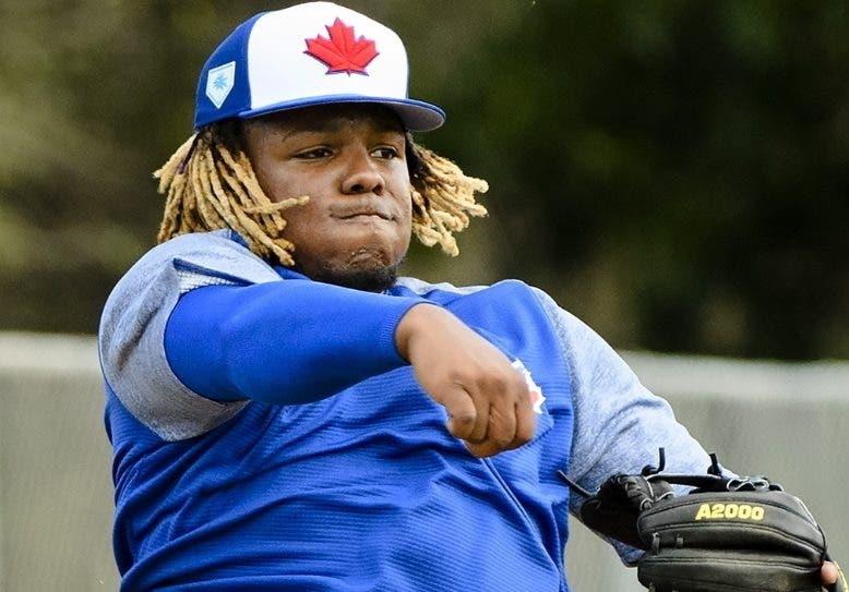 Vladimir Guerrero Jr.,  el mejor prospecto del béisbol.  AP